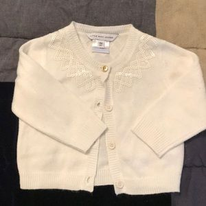 Little Marc Jacobs ivory cardigan